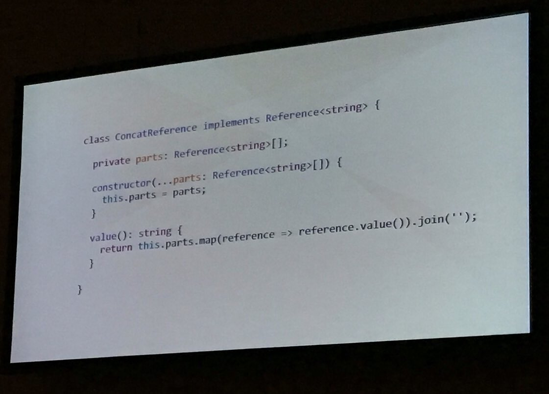 Example of writing a concatenation reference. (So much TypeScript!) https://t.co/y4fQ0HSC1L