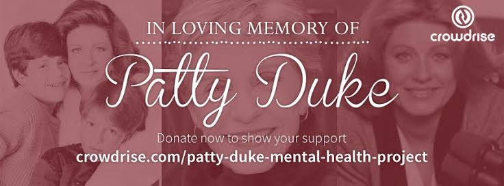 On #WorldBipolarDay please help honor my mom #PattyDuke's memory by supporting. TY https://t.co/0ol8BOxVnd https://t.co/JLiS6r8Rek