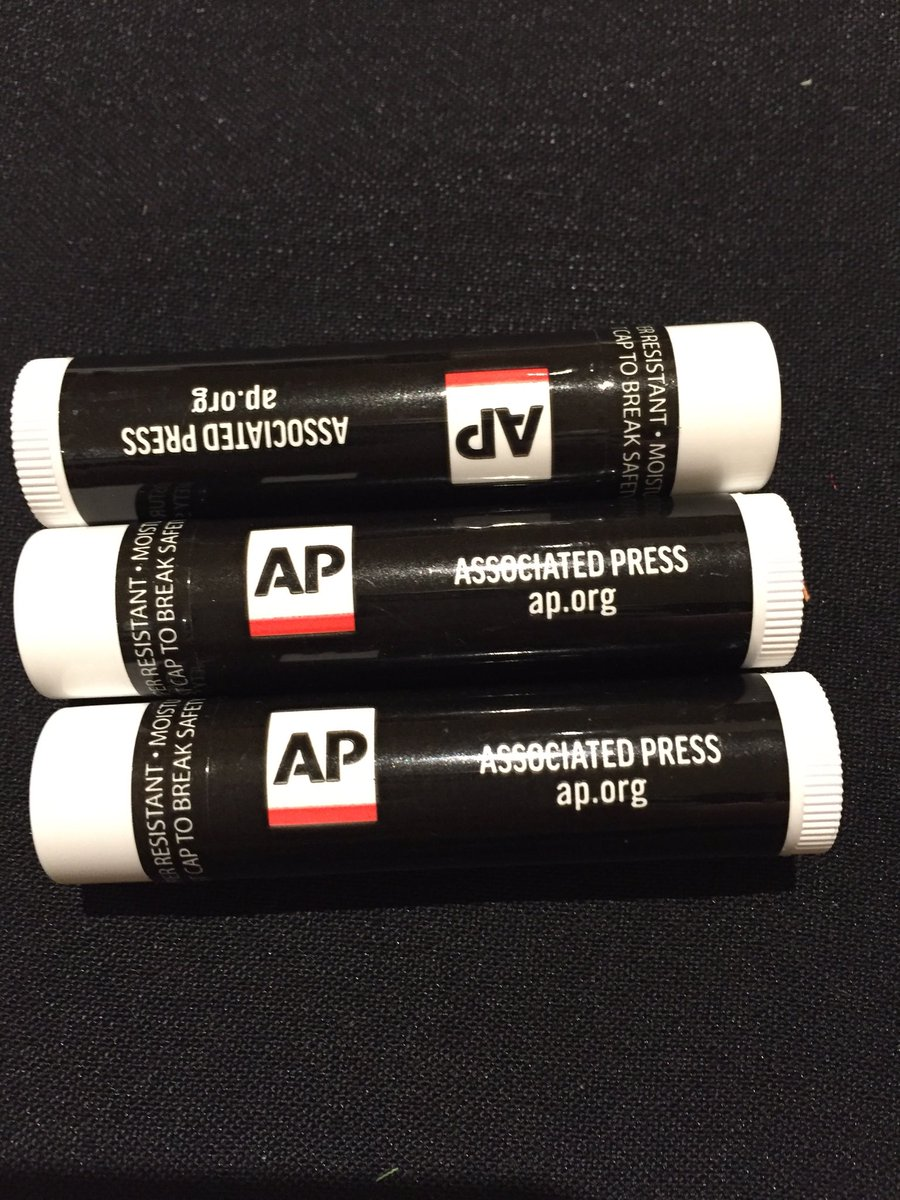 I also just scored AP lip balm for my students. #ACES2016 https://t.co/U5BYA9BxWn
