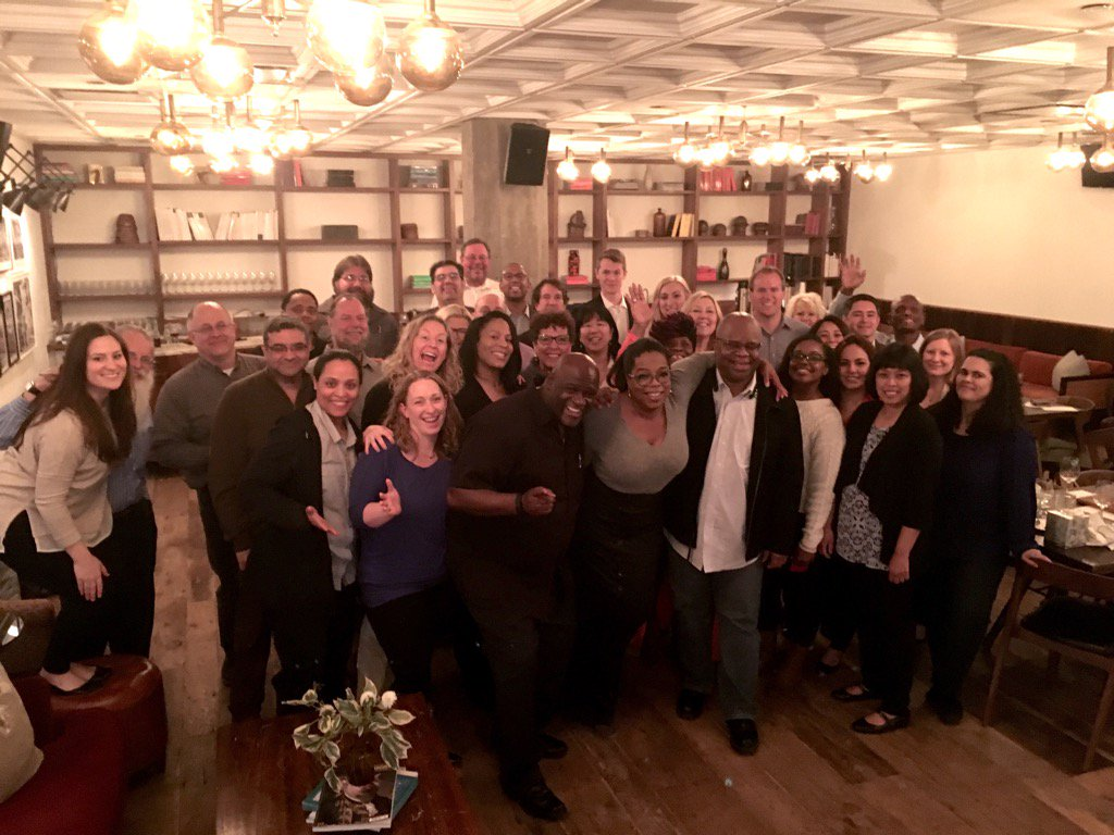 The final 37 of the Greatest team in television. Closing down #Harpo in Chicago. Deep Gratitude to you all! https://t.co/IUPVlnjw8n