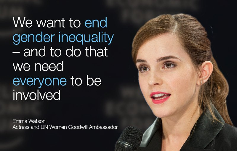 World Economic Forum On Twitter Quot Emma Watson I Don T