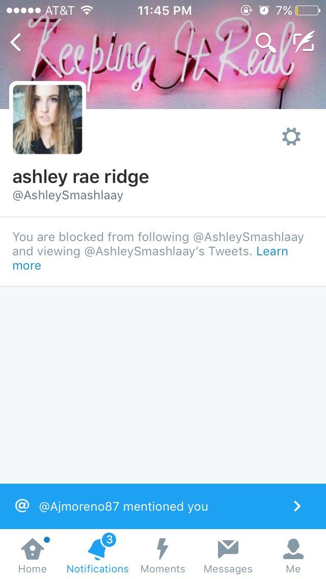 ashley rae ridge on Twitter: