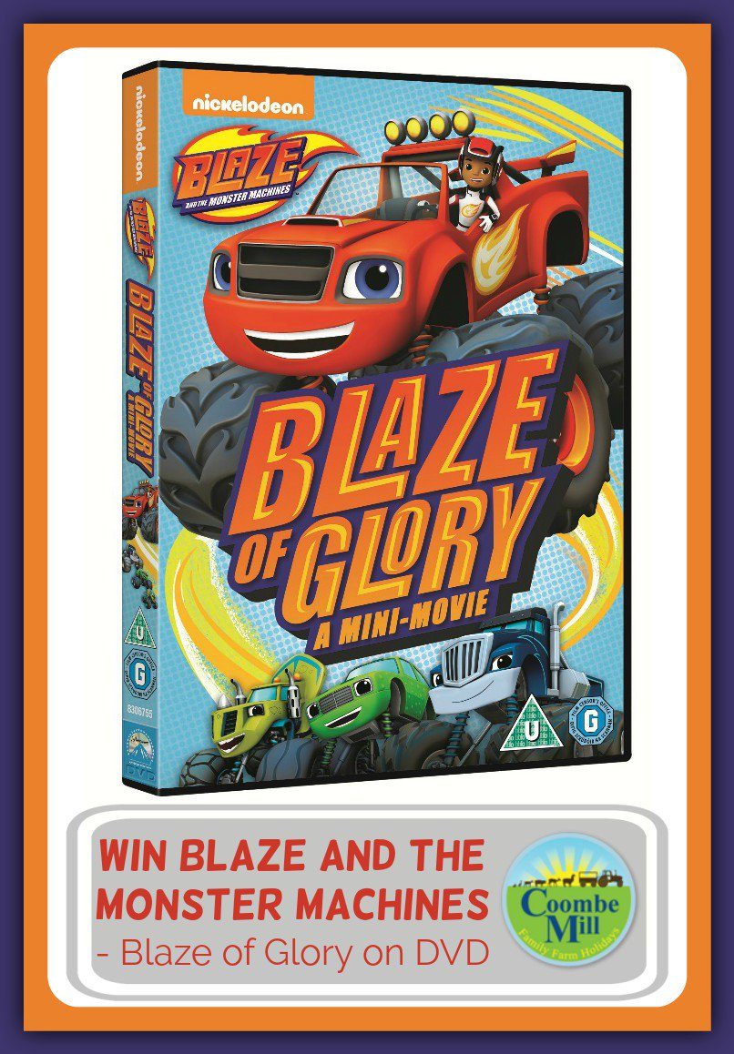 You could enter to #win 1 of 2 Blaze and the Monster Machines - Blaze of Glory DVD's https://t.co/0tlWLgDdUt https://t.co/n1lqWSOvZx