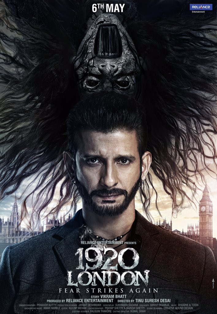1920 London Official Poster starring Sharman Joshi, Meera Chopra