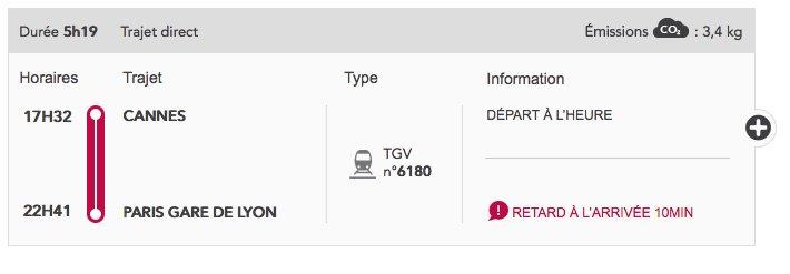 Avec la SNCF c'est possible ! Un train pas encore parti a déjà une prévision de retard à l'arrivée C'est fou non ? https://t.co/jgxfaSakI1