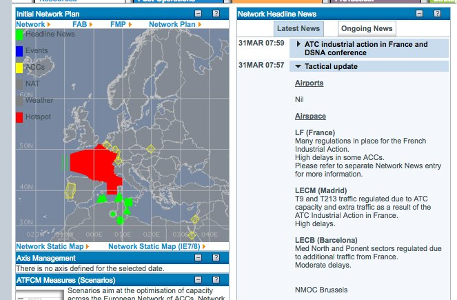 Carte Icom Barcelone.The Spain Report On Twitter French Airspace Not Completely Closed