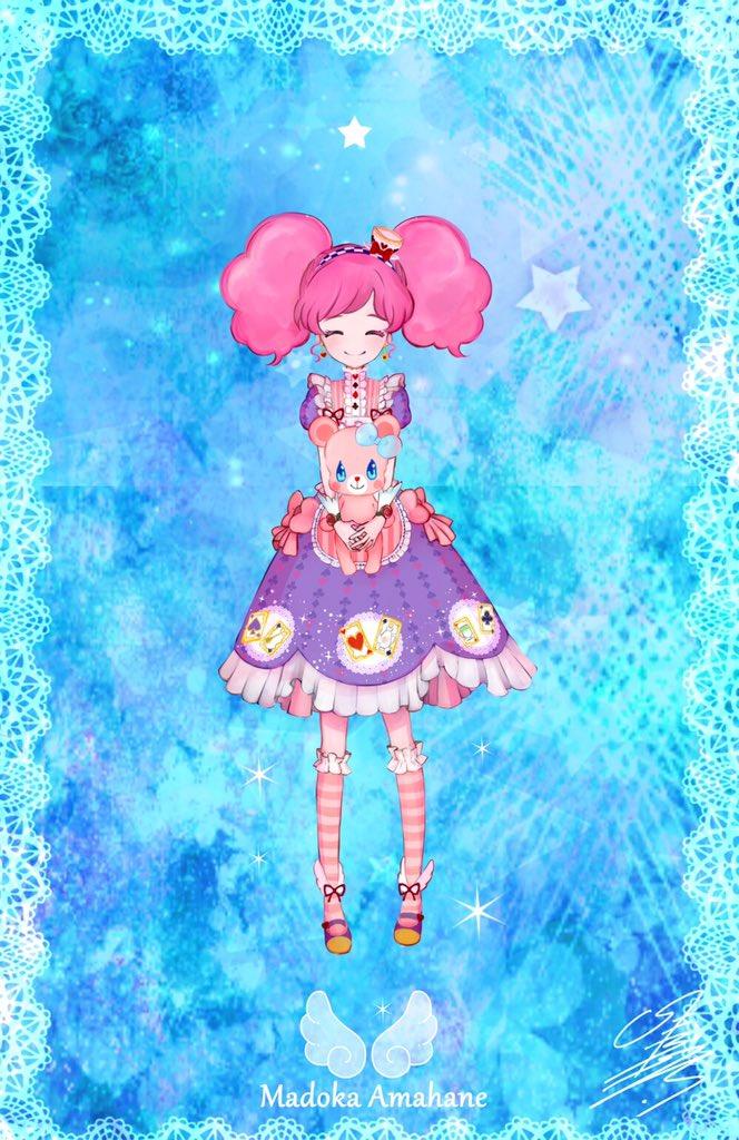 アイカツ!ありがとうございました!天羽まどかちゃん。ありがとう!!大好き!そして、おばあちゃんとおばあちゃんのドレスがほんっとうに大好きです!#aikatsu