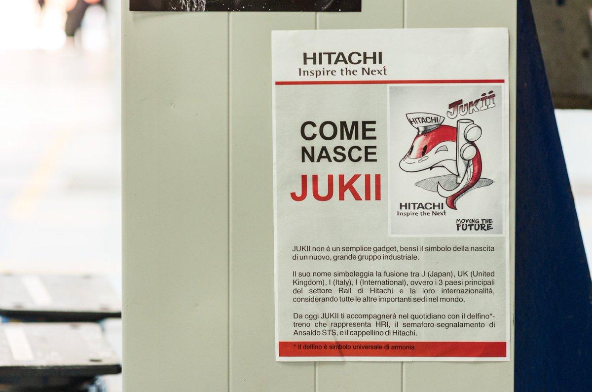 Hitachi Rail Italy On Twitter Jukii Symbol Of A New Beginning