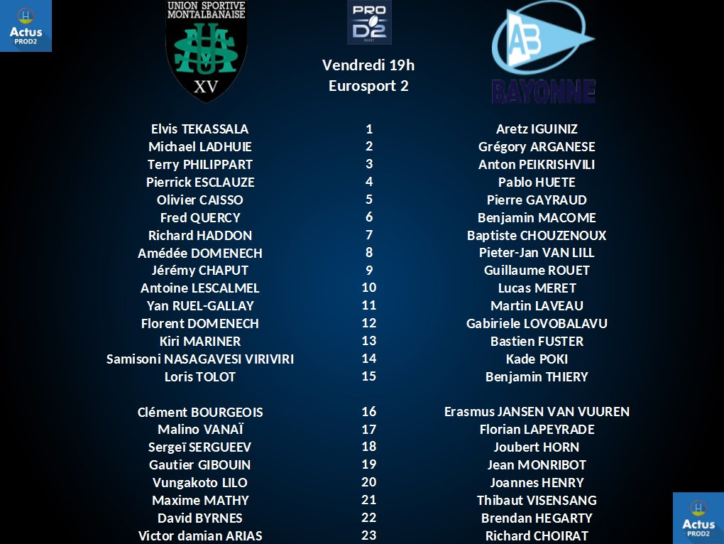 Forum rugby le bourre pif 24 me journ e montauban vs bayonne for Forum bayonne