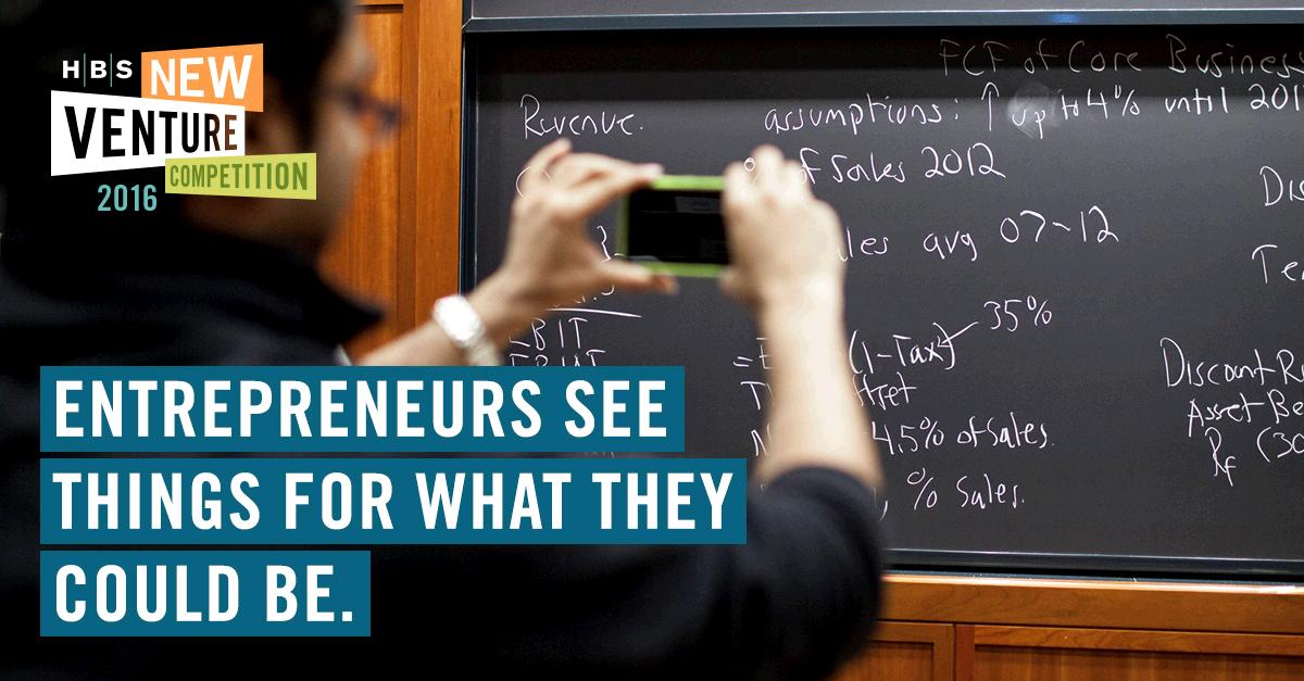 NVC is underway and next month the next generation of HBS entrepreneurs will present their new businesses #HBSNVC