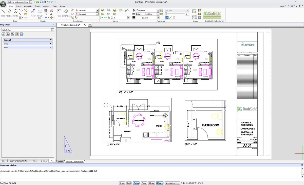 Draftsight On Twitter Its Easy To Scale Annotations On Layout Sheets And Printouts In Draftsight 2016 Https T Co N0cx0wniny Https T Co 07nb8zogcc