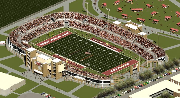 WT students voted yes for a new on-campus stadium in an online vote of the student body Tuesday and Wednesday.#wtamu https://t.co/GyCZP4VwDG