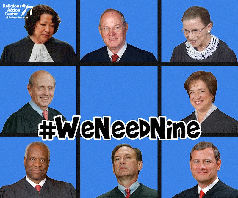 "#SCOTUS is missing a member of its ""Bunch""… [ahem]… Bench. Tell your Senators #WeNeedNine: https://t.co/QNrmsWLL3K https://t.co/89vUuGOHjl"