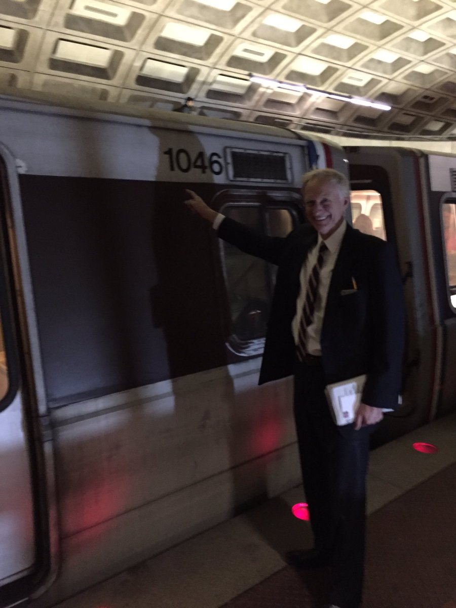 Where can u see orig. 40y.o. #WMATA car? Smithsonian? No need. We have 2 fix decades of mis-mgmt/under-investment. https://t.co/aXmJ1IIofd