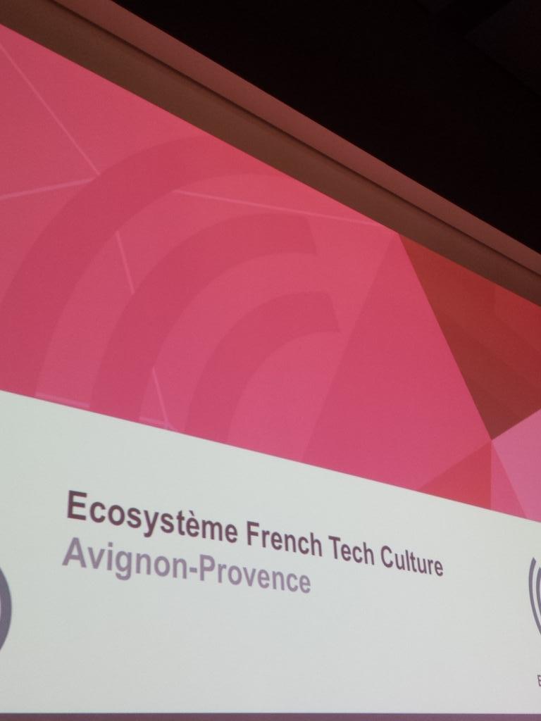 La conférence sur French Tech Culture Avignon sur @tropismefest @LaPanace va commencer #tropisme16 #RRun https://t.co/spNQhvsibF