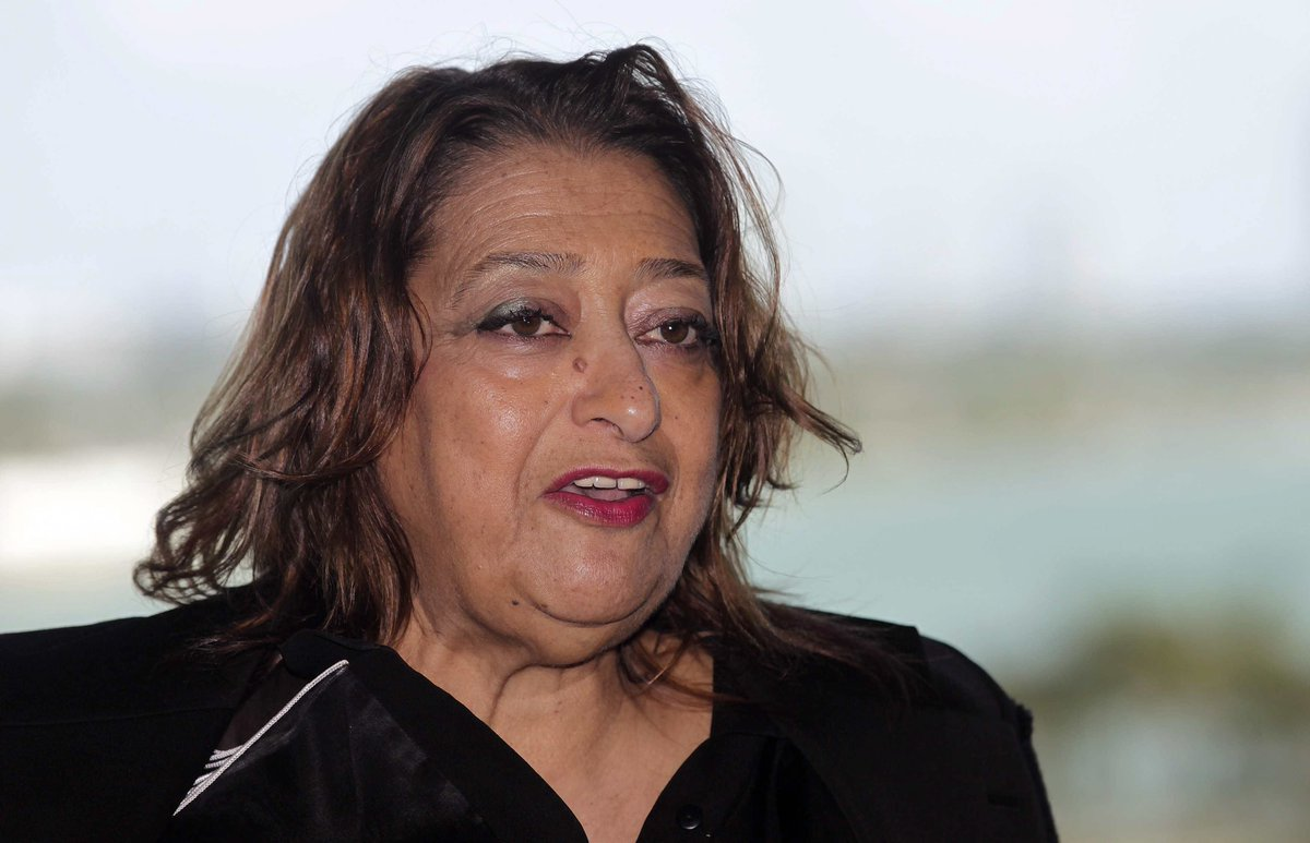 Architect Zaha Hadid has died aged 65. Her works include Abu Dhabi's Sheikh Zayed Bridge https://t.co/2gdPEvUe1n https://t.co/e83vgMvyDp