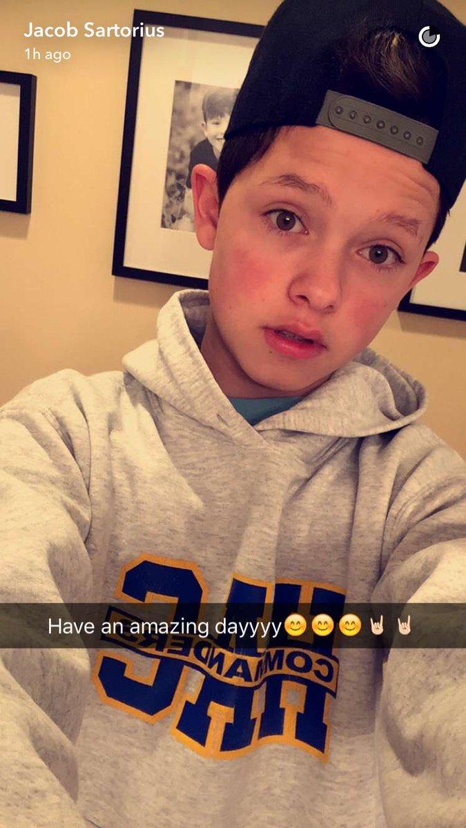 MAGCON Updates On Twitter Jacob Sartorius Via Snapchat Tco QV0QUu17u3