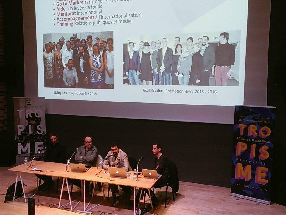 Présentation du mouvement @frenchtech au @tropismefest. Culture, Économie & Numérique : la solution ? #tropisme16 https://t.co/kjmJMf1dbc