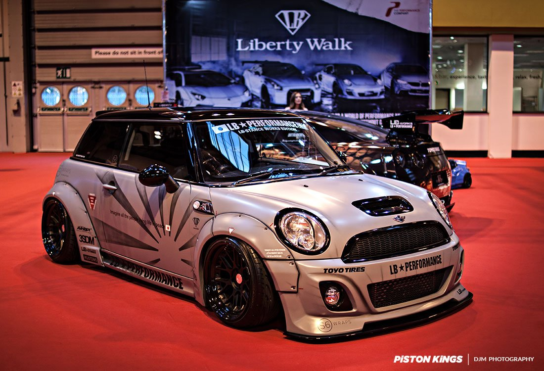 Liberty Walk EU On Twitter ThrowbackThursday Picture Of Our LB Performance Mini The Only One In Europe At Autosport