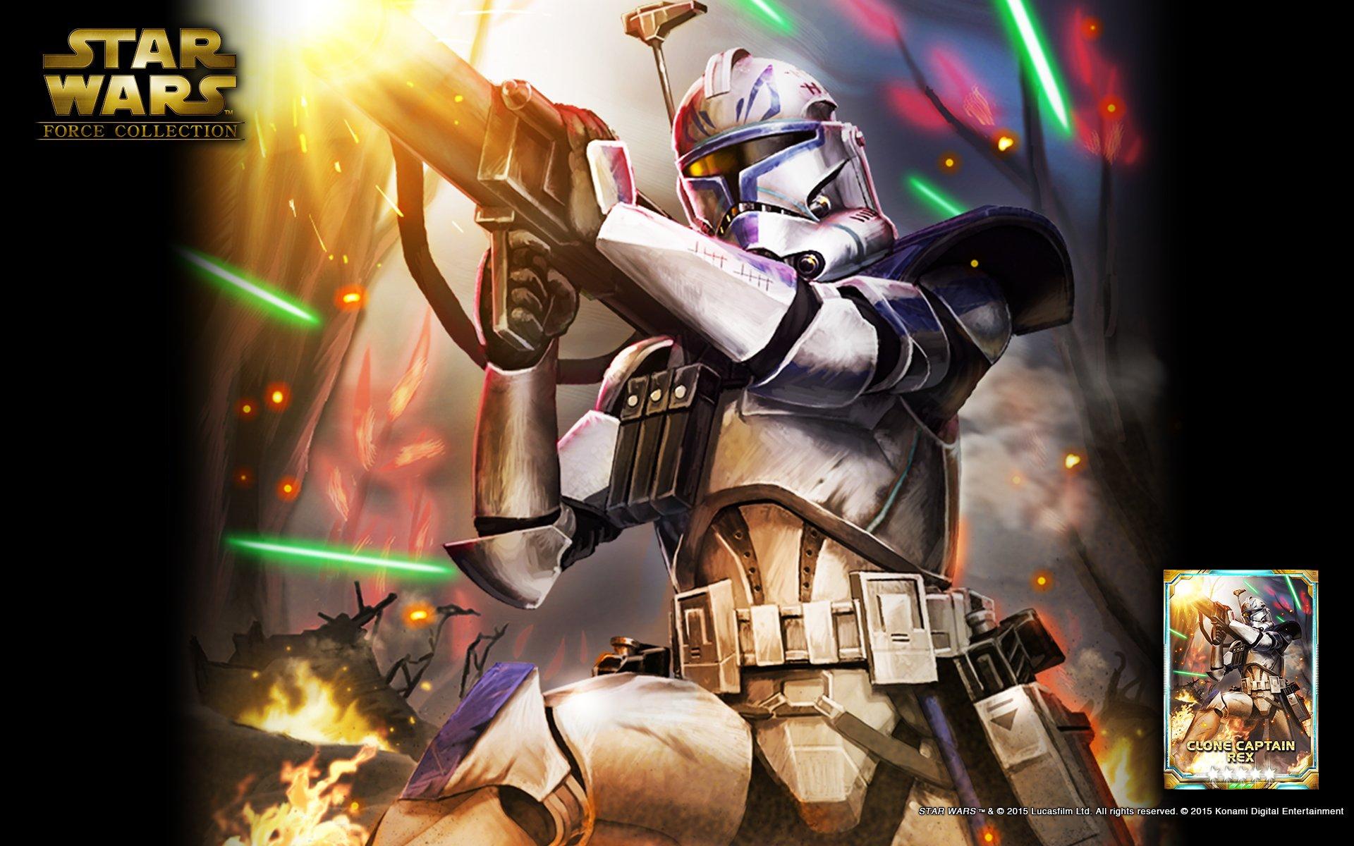 Konami On Twitter Wallpaper Card Art Star Wars Force Collection