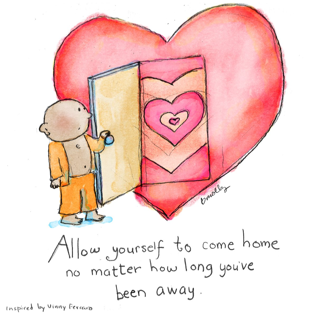 RT @KariJoys: Come home to your #Heart no matter how long you've been gone! #JoyTrain #Motivation https://t.co/8LmfNca9Tp RT @BuddhaDoodles