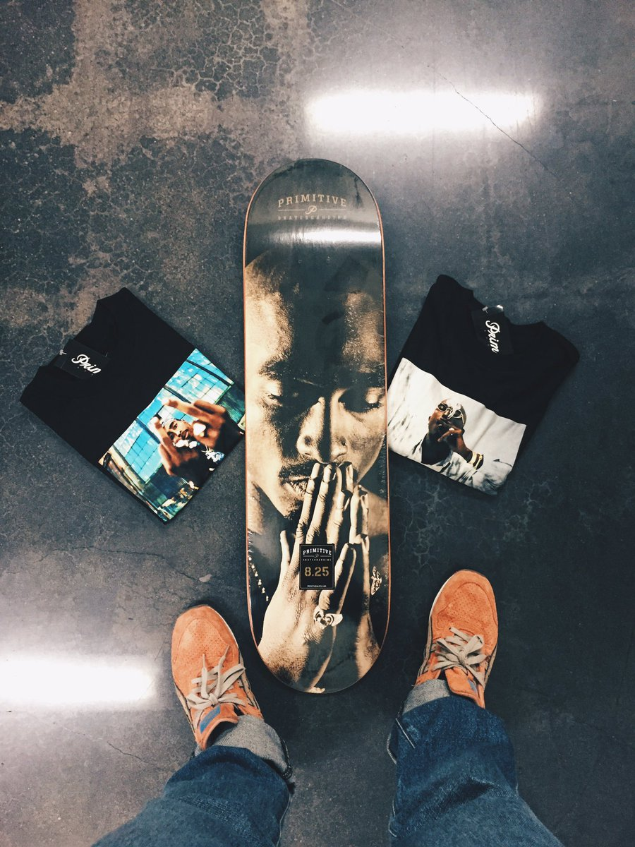 Found two mediums from our #2pac collection so we're going to give them away! RT to win the tees & an 8.25 deck.