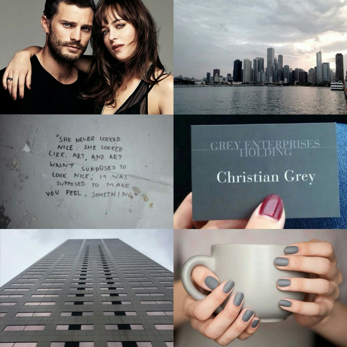 which fifty shades character are you