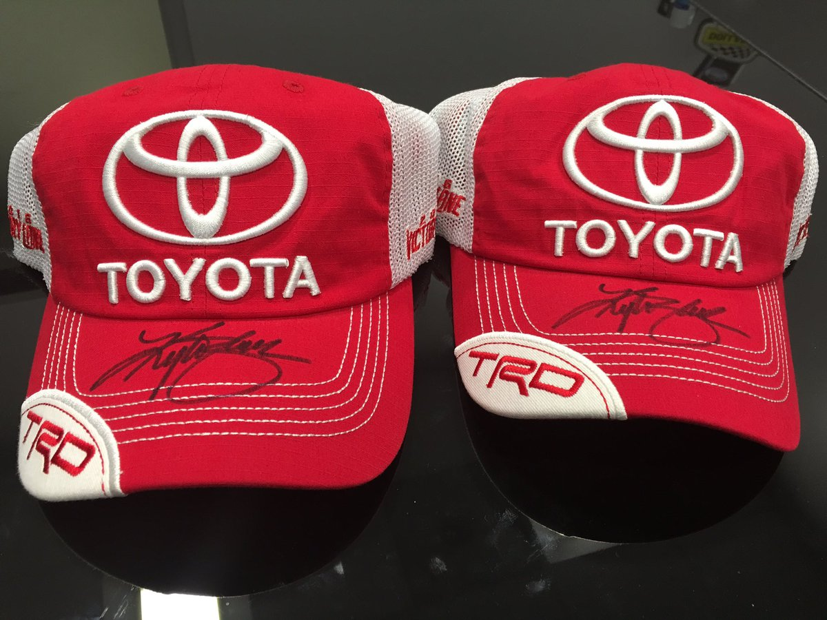 Got a couple @ToyotaRacing Victory Lane hats 2 give away. Once this gets 180 retweets I'll pick 2 random winners! https://t.co/K80AZIxWbB