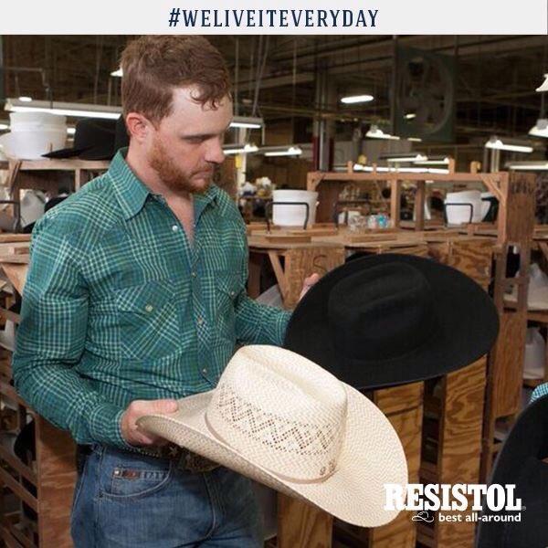 f27a493ee41 Resistol Hats on Twitter