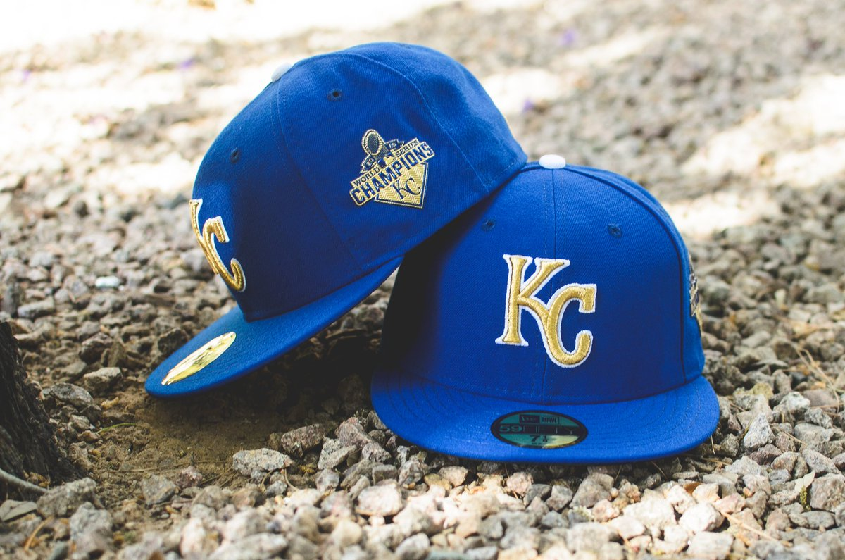 the latest fb70c d8749 ... low price caps have arrived hatclub products new era 59fifty kansas  city royals opening day on