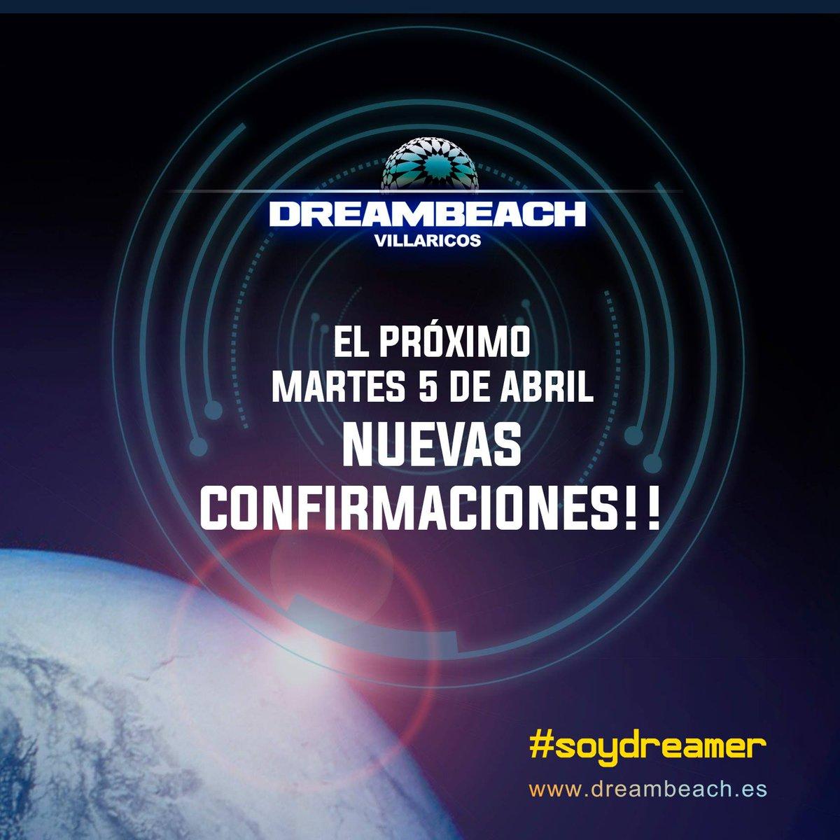 |@DreambeachFest| ¡El próximo 5 de abril NOVEDADES! Síguenos y haz RT para ir GRATIS al #festivalazo de #Villaricos! https://t.co/1CfeEfEyPi
