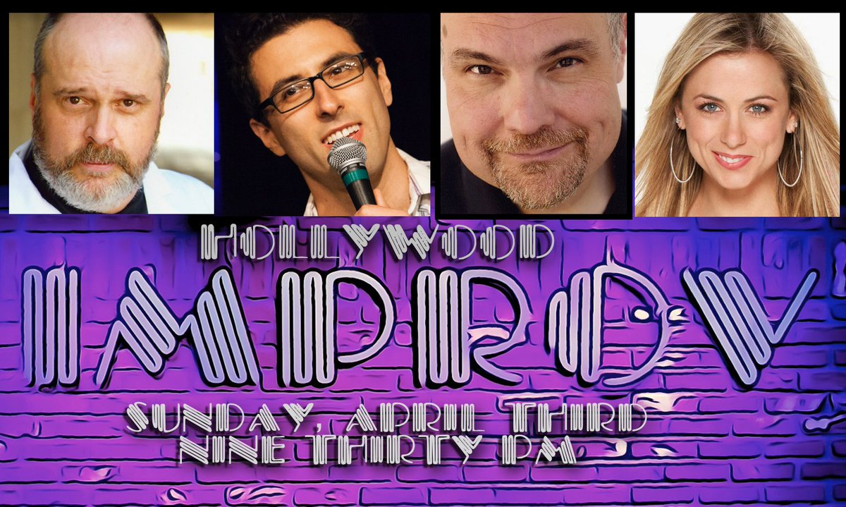 LA This Sunday @HollywoodImprov 9:30pm w/ Iliza, Overton, McShane, Sherwin, + special guest! https://t.co/qdSonoF8Fc https://t.co/3UOXDrQbGG