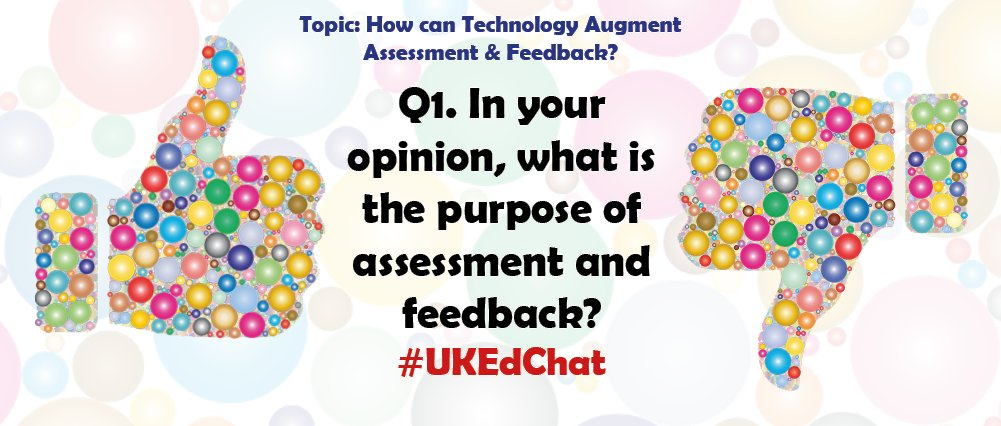 Question One * Chat page: https://t.co/3JIDfhuli1 * Remember to use the #UKEdChat hashtag https://t.co/RXeD4kNjjr