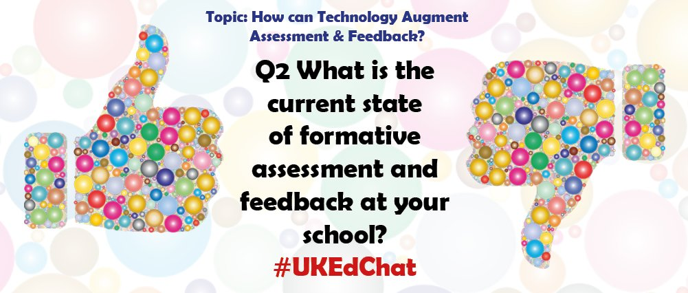Question Two * Chat page: https://t.co/3JIDfhuli1 * Remember to use the #UKEdChat hashtag https://t.co/Gf1uKYKohB