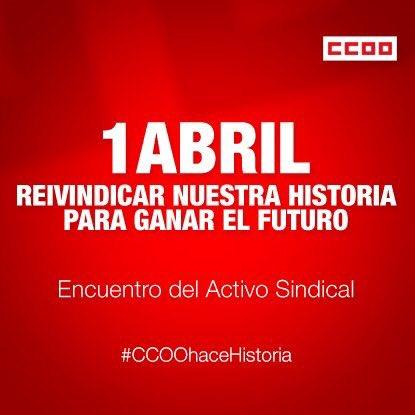 Hicimos, Hacemos, Haremos Historia. El compromiso de CCOO en la lucha por la libertad #CCOOhaceHistoria https://t.co/Eu00sZ5T21