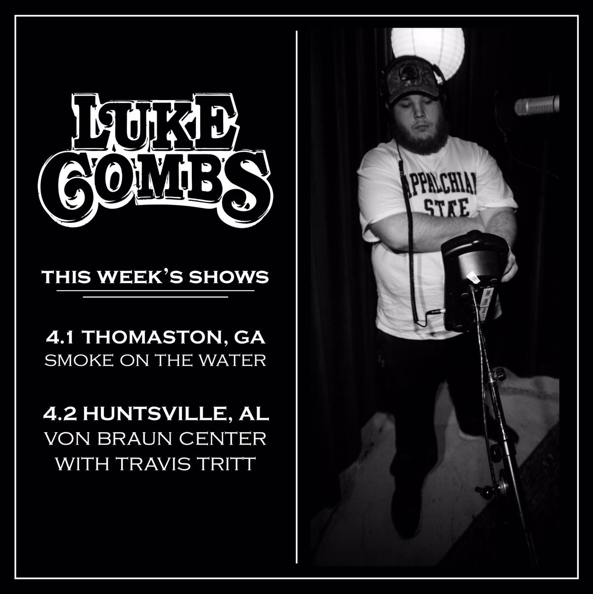 Luke combs on twitter rt for a chance to win 2 meet greet luke combs on twitter rt for a chance to win 2 meet greet passes one winner for each show but must have show ticket for eligibility m4hsunfo