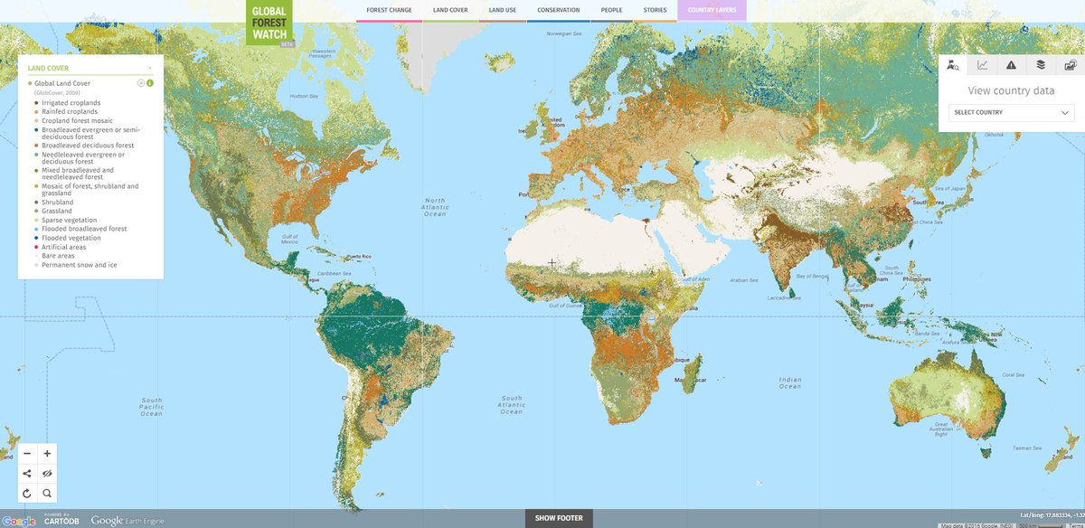 Map Of World Forests.Global Forest Watch On Twitter Where Are The World S Forests