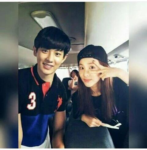 Image result for chanyeol and dara