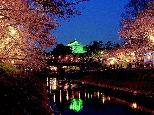 岡崎の花見。  こんな街ほんとないと思うのよ。 https://t.co/H2DCKqEVpF