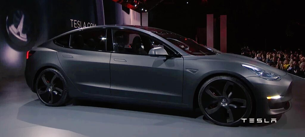 Brian Newman On Twitter Tesla Model Iii Just Revealed Only