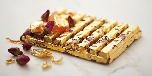What is the world's most exclusive chocolate? The gold #KitKat: https://t.co/jp8OpCpMSB https://t.co/1OhsICWtbW