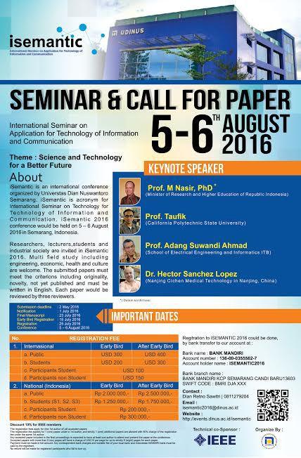 research papers seminar