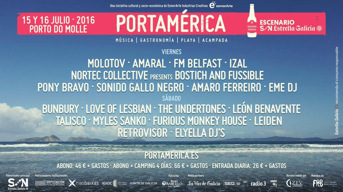 Festival PortAmérica, Nigrán, Pontevedra, Galicia (15/07/15) Ce868j0WEAAOX6Y