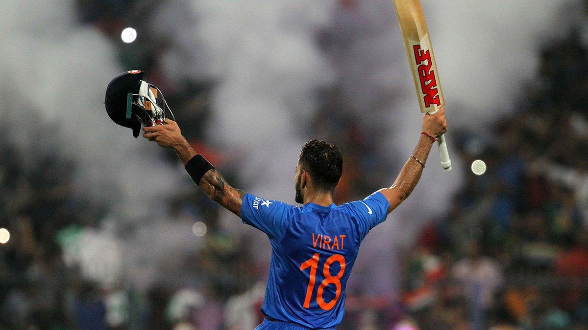 Virat Kohli's ICC Rankings across formats on 23 December 2017  Tests - 2 ODIs - 1 T20Is - 1  <br>http://pic.twitter.com/hwzBiIqHtz  https:// twitter.com/imtheguy007/st atus/1229351817898840064  …