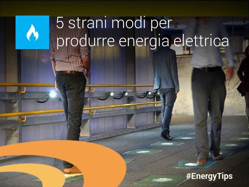 Ecco 5 modi davvero inusuali per produrre #energiaelettrica: https://t.co/uyxa8W3rPG 💡 https://t.co/sJh3HKWrPh