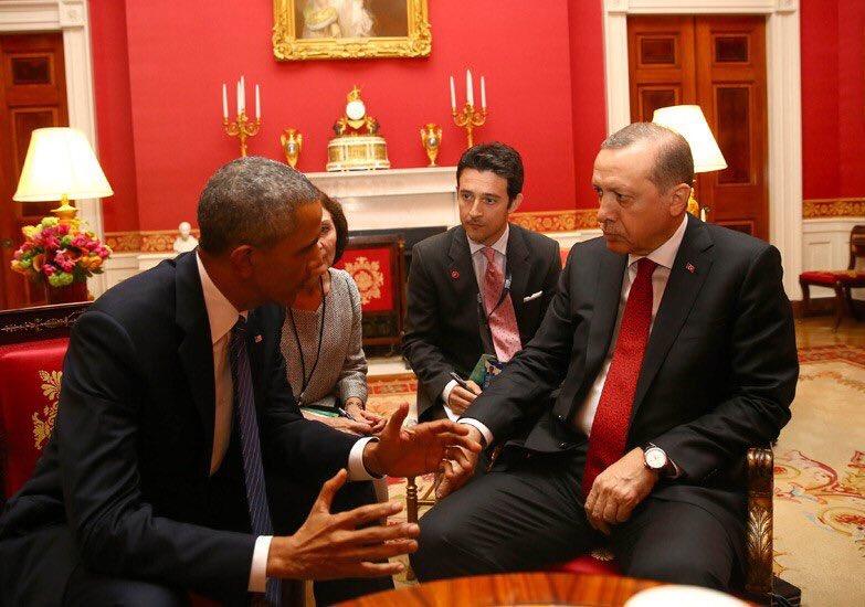 "Rudaw English on Twitter: ""Obama- Erdogan meeting in red room of the @WhiteHouse on Thursday https://t.co/IlEpAZkBzU"""