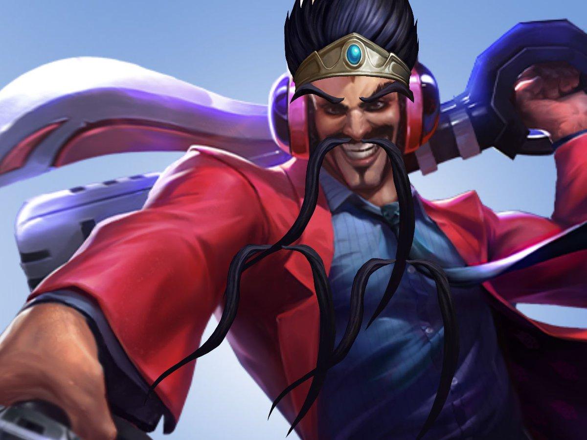 Draven Mustache