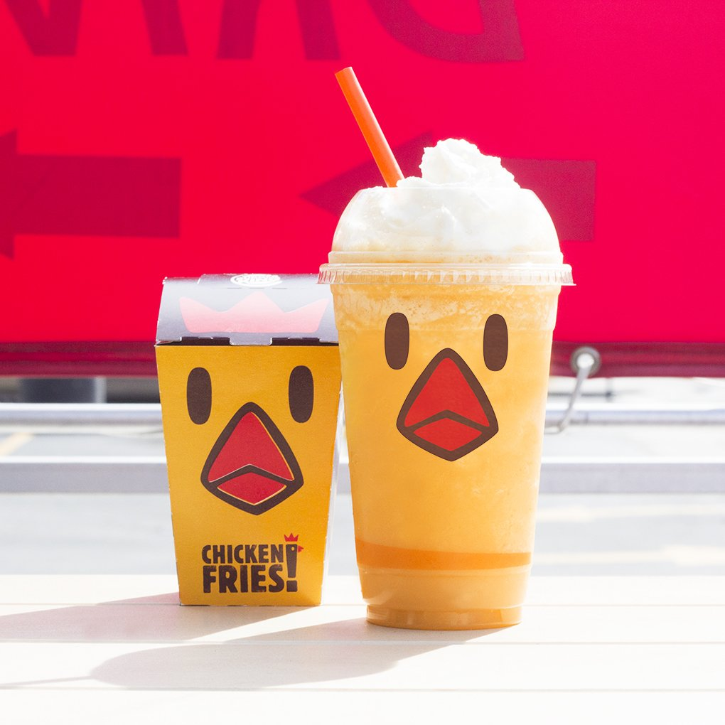 Burger King On Twitter Introducing The New Chicken Fries Shake Its Too Good To Be True Tco CZQhUG26ZO