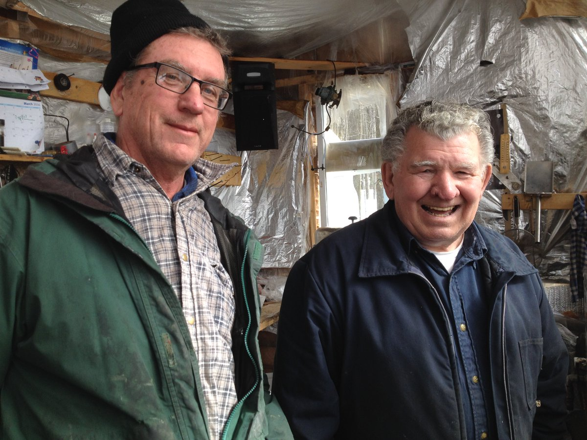 A banner year for maple syrup producers across Eastern Ontario and West Quebec. Some say best sap run in 25 years. https://t.co/JJVKjFs2qf