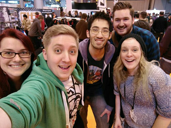 Met @lomadia and @InTheLittleWood at @GadgetShowLive  :D https://t.co/r0fSCotDJe with @DeejTweets and @LynseyRidd https://t.co/qgze3Fft4T
